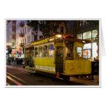 Tarjeta de felicitación del teleférico de San Fran