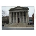 Tarjeta de felicitación del tribunal de Staten el
