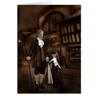 Tarjeta de felicitación del vampiro