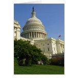 Tarjeta de felicitación del Washington DC del capi