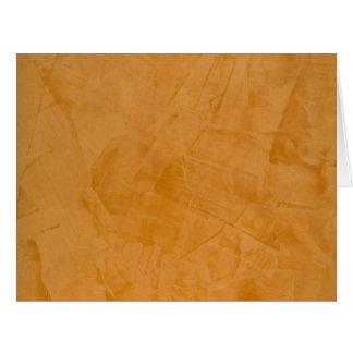 Tarjeta de felicitación en blanco grande del yeso