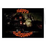 tarjeta de felicitación fantasmagórica de house3 H