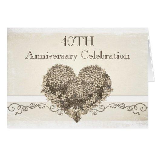 tarjeta de felicitación feliz del aniversario del