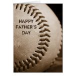 Tarjeta de felicitación feliz del béisbol del día