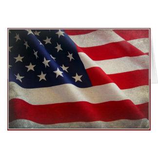 Tarjeta de felicitación feliz del día de veteranos