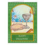 Tarjeta de felicitación feliz del Passover
