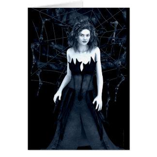Tarjeta de felicitación gótica del arte de la