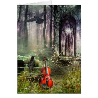 Tarjeta de felicitación gótica del Dreamland