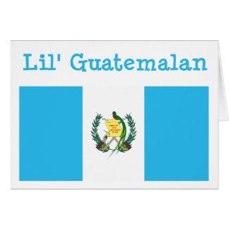 Tarjeta de felicitación guatemalteca de Lil