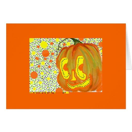 Tarjeta de felicitación/Halloween