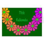 Tarjeta de felicitación hawaiana del navidad de Me