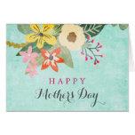 Tarjeta de felicitación hermosa del día de madre