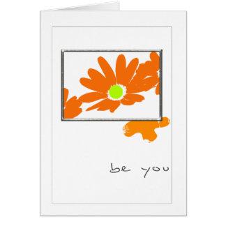 tarjeta de felicitación ideal