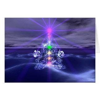 Tarjeta de felicitación Meditation2 - 5x7