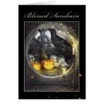 Tarjeta de felicitación mística bendecida del