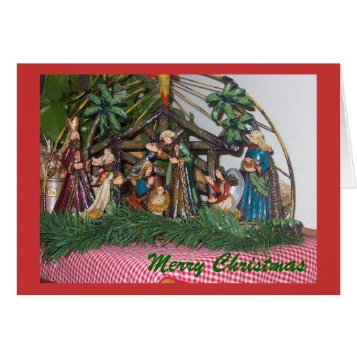 Tarjeta de felicitación/navidad/natividad