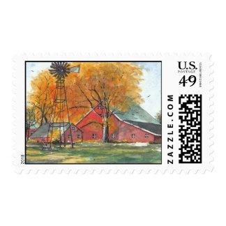 Tarjeta de felicitación noble (4) sello