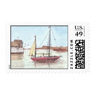 Tarjeta de felicitación noble (7) sello