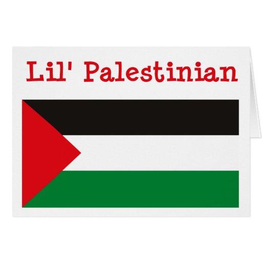 Tarjeta de felicitación palestina de Lil