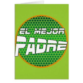 Tarjeta de Felicitación para el Mejor Padre Card