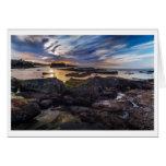Tarjeta de felicitación - playa del sello, La Joll