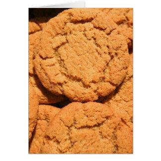 Tarjeta de felicitación rápida de las galletas del