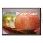Tarjeta de felicitación roja de Apple
