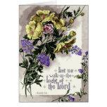 Tarjeta de felicitación temática cristiana