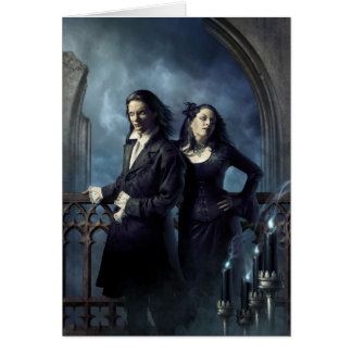 Tarjeta de felicitación vampírica de la nobleza