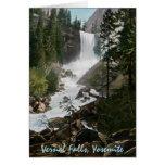 Tarjeta de felicitación vernal de Yosemite del vin