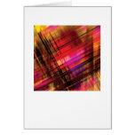 Tarjeta de felicitaciones abstracta de los Arty