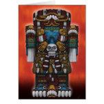 Tarjeta de felicitaciones azteca