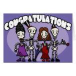 Tarjeta de felicitaciones de la bola de los Undead