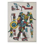 Tarjeta de felicitaciones de Mixtec