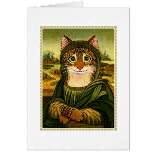 Tarjeta de felicitaciones del CAT de la sonrisa de
