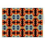 Tarjeta de felicitaciones infinita del mosaico