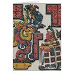 Tarjeta de felicitaciones maya