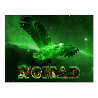 Tarjeta de felicitaciones nómada de Eagle del espa Postales
