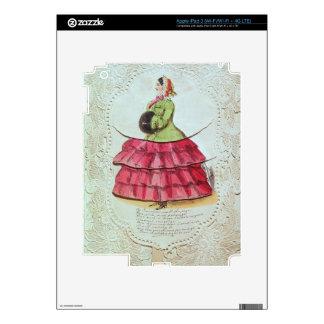 Tarjeta de felicitaciones (w/c en el papel) iPad 3 skins