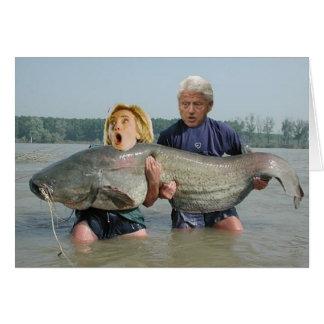 Tarjeta de Fishin Clintons