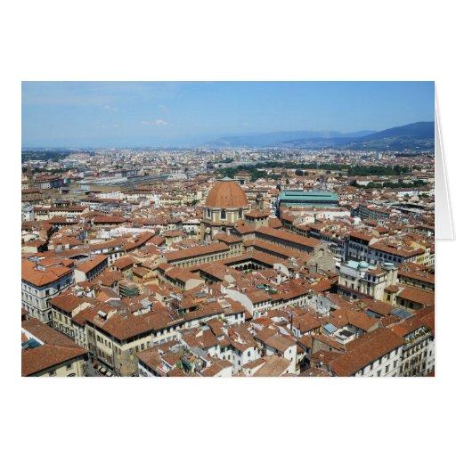 Tarjeta de Florencia