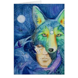 Tarjeta de Framable: Hijo del coyote