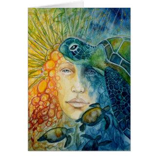 Tarjeta de Framable: Reina del erizo de mar
