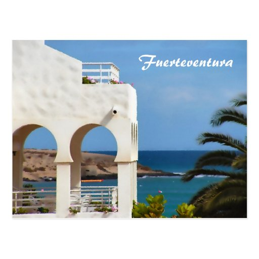 Tarjeta de Fuerteventura Tarjeta Postal