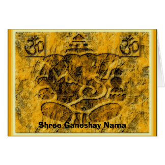 Tarjeta de Ganesha