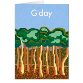 Tarjeta de Gday