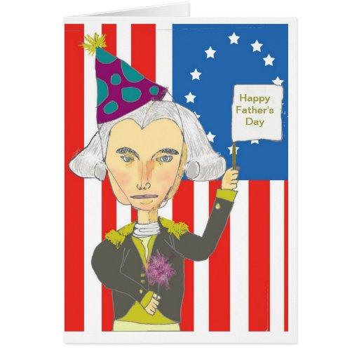 Tarjeta de George Washington