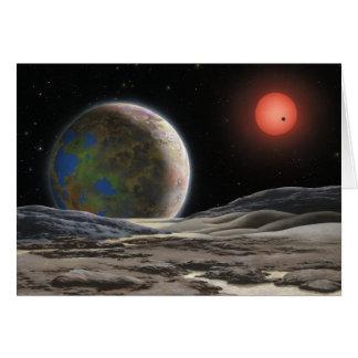 Tarjeta de Gliese 581 c