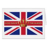 Tarjeta de God Save the Queen