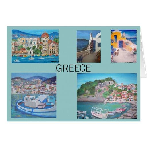 Tarjeta de Grecia